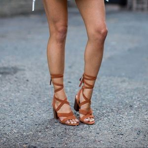 "Sole Society Lace Up Sandal ""Lyla"" US 6 / UK 36"